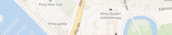 Karte Pirita Tallinn