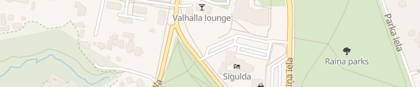 Karte Pils iela Sigulda