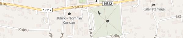 Karte Turu tänav Kilingi-Nõmme