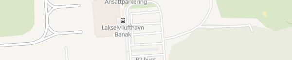 Karte Lakselv Lufthavn Lakselv