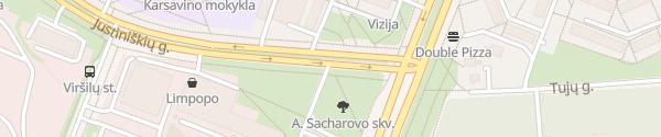 Karte Spaudos rūmai Vilnius