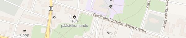 Karte Türi Kultuurikeskus Türi