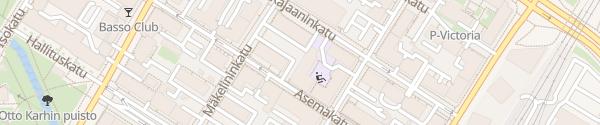 Karte Best Western Hotel Apollo Oulu