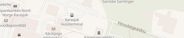 Karte Rådhus Karasjok