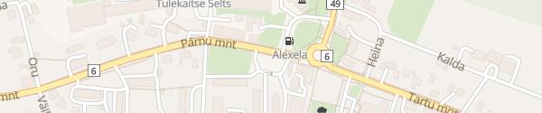 Karte LKW Parkplatz Karksi-Nuia
