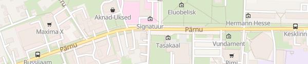 Karte Pärnu tänav Paide