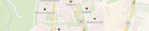 Karte Rael Autokeskus Viljandi