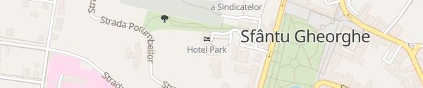 Karte Best Western Park Sfântu Gheorghe