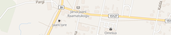 Karte Hauptplatz Järva-Jaani