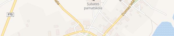 Karte Subates kulturas nams Subate