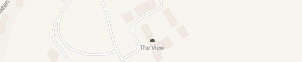 Karte Hotel The View Honningsvåg