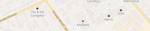 Karte Kaufland Sebastian București