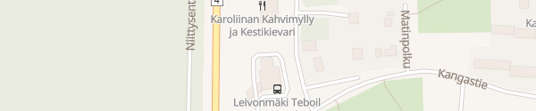 Karte Teboil Leivonmäki