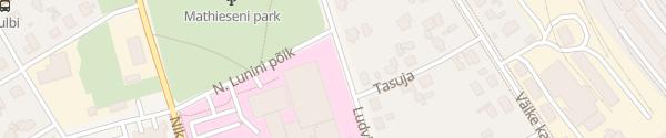 Karte Universitätsklinikum Tartu