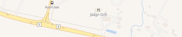 Karte Jäägri Grill Ida-Virumaa