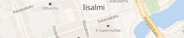 Karte Zentrum Iisalmi