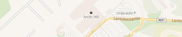 Karte Flughafen Ivalo Inari