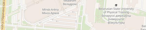 Karte Minsk Arena Minsk