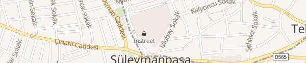 Karte Tekira Alışveriş Merkezi Süleymanpaşa