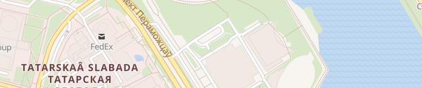 Karte Sportpalast Minsk