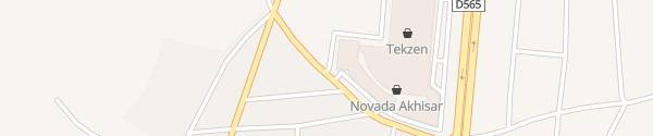 Karte Novada Outlet Akhisar