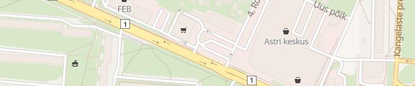 Karte Narva Centrum Narva