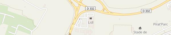 Karte Lidl Gruissan