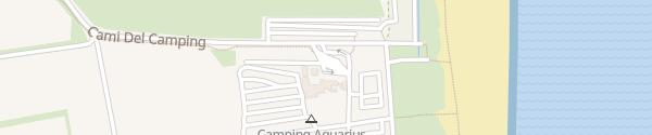 Karte Camping Aquarius Sant Pere Pescador