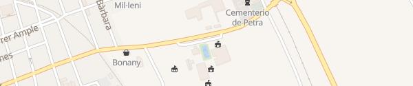 Karte Sportplatz Petra