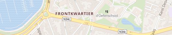 Karte De Langheplein Blankenberge