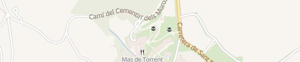 Karte Mas de Torrent Hotel & Spa Torrent