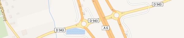 Karte Park&Ride Parkplatz Sépeaux