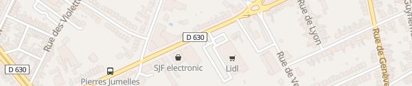 Karte Lidl Cambrai