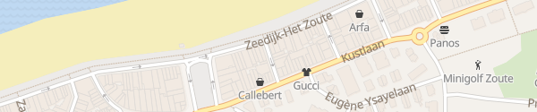 Karte Golvenstraat Knokke-Heist