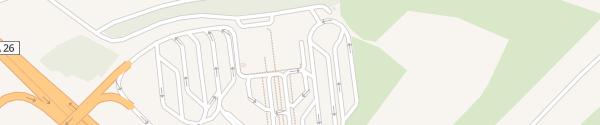 Karte Supercharger Aire d'Urvillers Urvillers