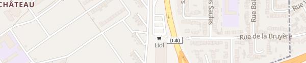 Karte Lidl Denain