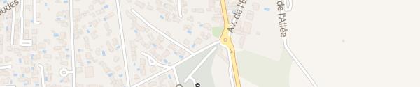 Karte Chemin de la Croix de Redon Bessan