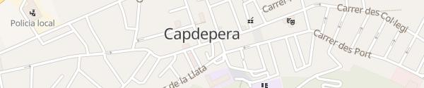 Karte Carrer de Ciutat Capdepera