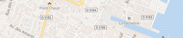Karte Parking Du Théâtre Marseillan