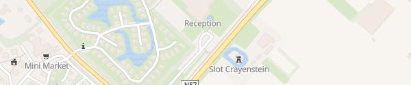 Karte Sporthalle Landal Resort Schouwen-Duiveland