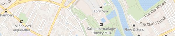 Karte Parking Hôtel de Ville Alès