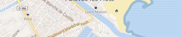 Karte Casino de Palavas Palavas-les-Flots