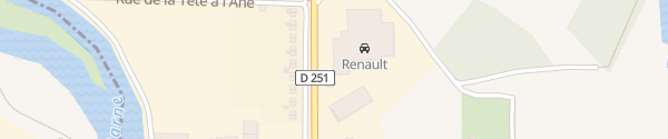 Karte Renault in Magenta Magenta