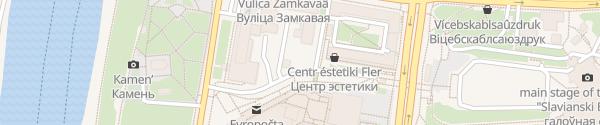 Karte Belorusneft Schnelllader Vitebsk