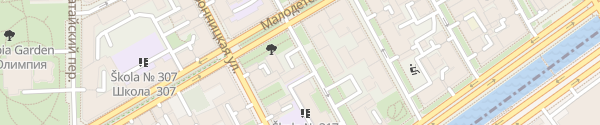 Karte Quadro Electric St. Petersburg