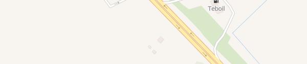 Karte Shell Tankstelle Süd Рябово