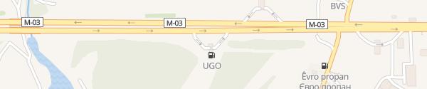 Karte Glusco Reshetilovka с. Решетилівка