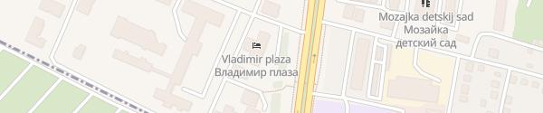 Karte Hotel Vladimir Plaza Bryansk