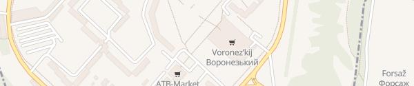 Karte Vasylia Serhiienka St Zaporizhzhia