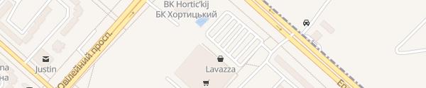 Karte Amstor Zaporizhzhia